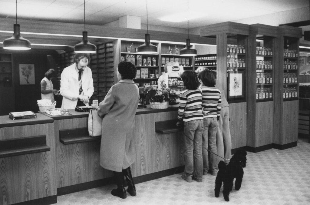 1979 - Umzug in die neuen Räumlichkeiten der Mannheimer Straße 42